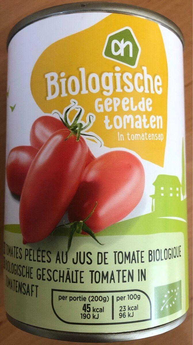 Biologische gepelde tomaten - Product - nl
