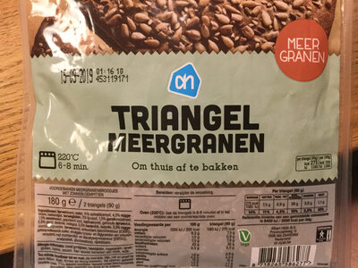 Triangel Meergranen broodjes - Produit - nl