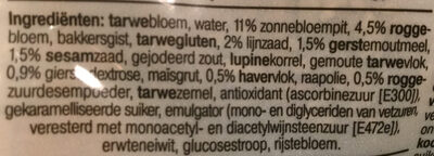 Triangel Meergranen broodjes - Ingrédients - nl