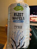 Rijstwafels Naturel - Product - en