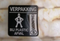 Rijstwafels Naturel - Recycling instructions and/or packaging information - nl