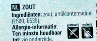 Basic Zout - Ingrediënten - nl
