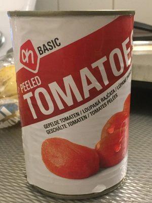 Peeled tomatoes - Product - fr