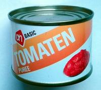 Tomatenpuree, geconcentreerd 20-22% - Product