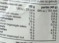 Havermout - Nutrition facts - nl