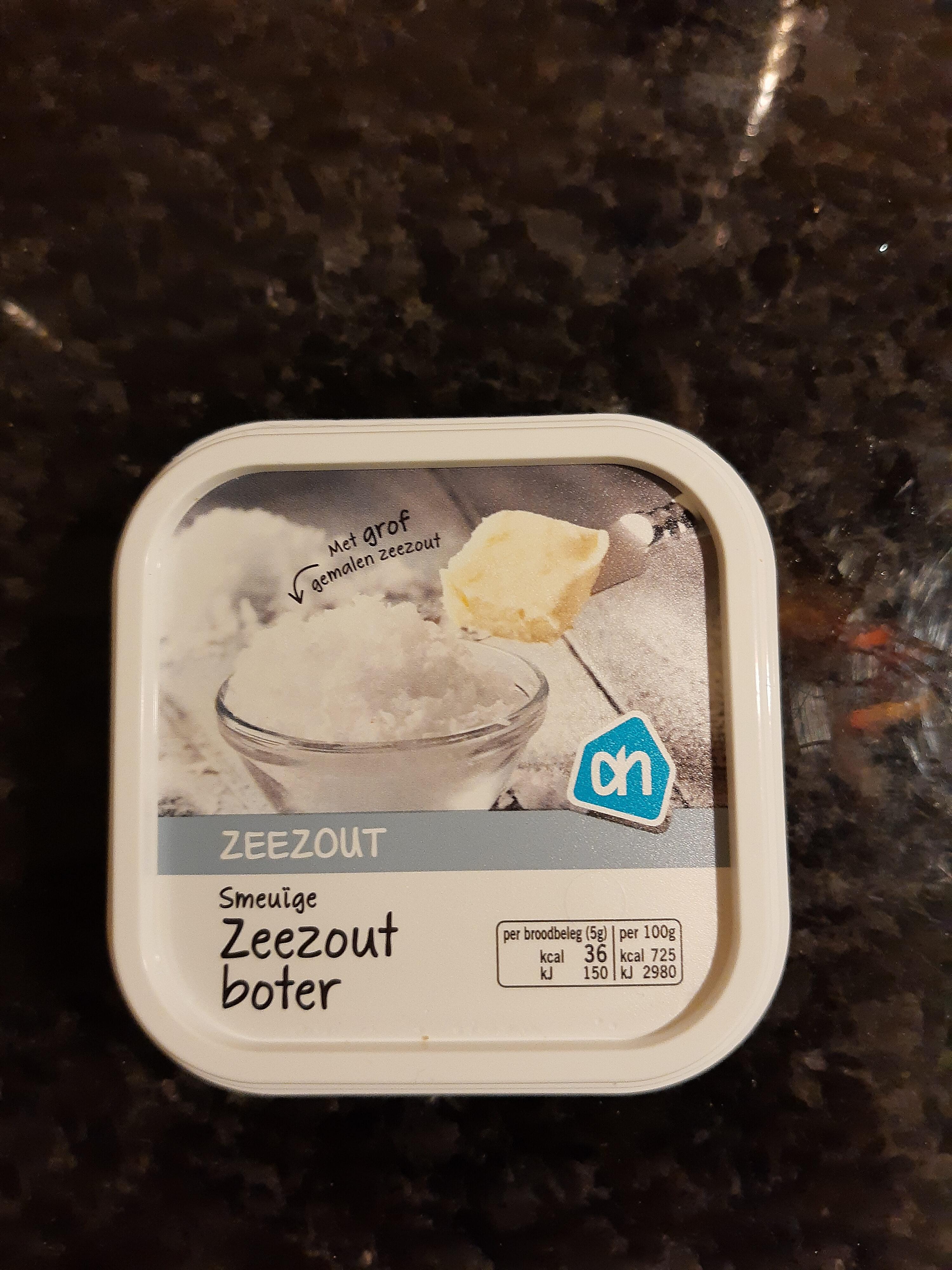 Zeezout boter - Product - nl