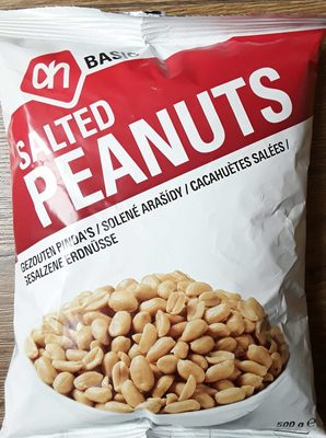 Salted Peanuts - Product - nl
