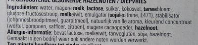 Ijshoorntjes - Ingrediënten