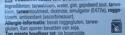 Baguettes - Ingrediënten