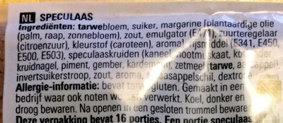 Brokken Speculaas - Ingrediënten