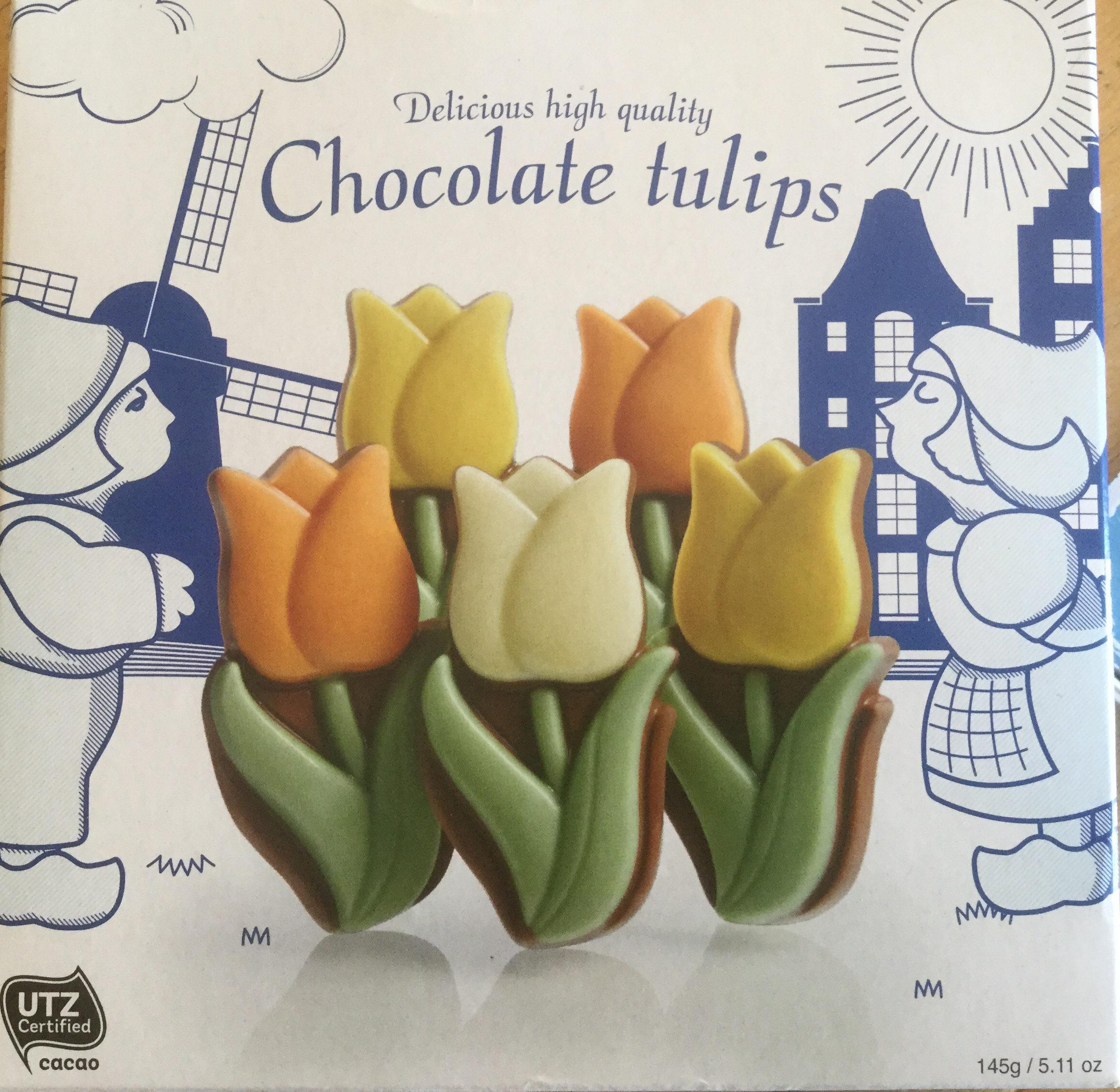 Chocolate tulips - Product - en