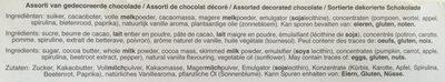 Chocolate tulips - Ingredients - en
