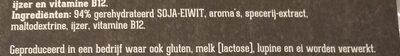 - Ingrediënten - nl