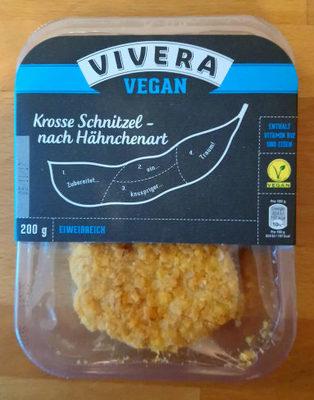 Krosse Schnitzel nach Hähnchenart - Produit