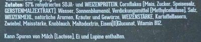Krosse Schnitzel nach Hähnchenart - Ingrédients