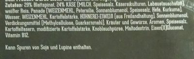 Spinat-Käse Filet - Ingrédients