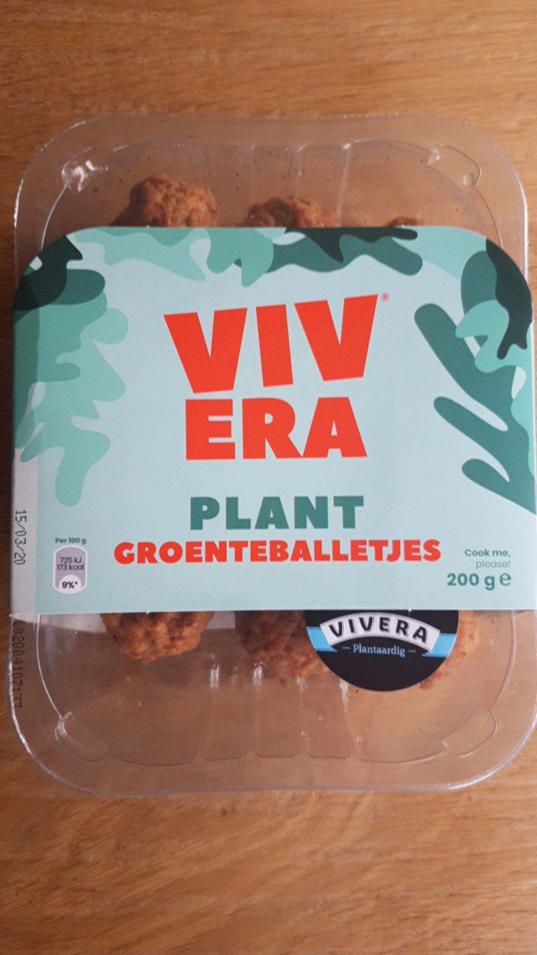 Plant Groenteballetjes - Produit - nl