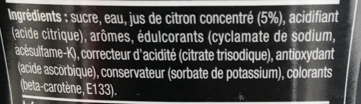 Sodastream - Concentré Cocktail Mojito - 30025374 - Ingredients - fr