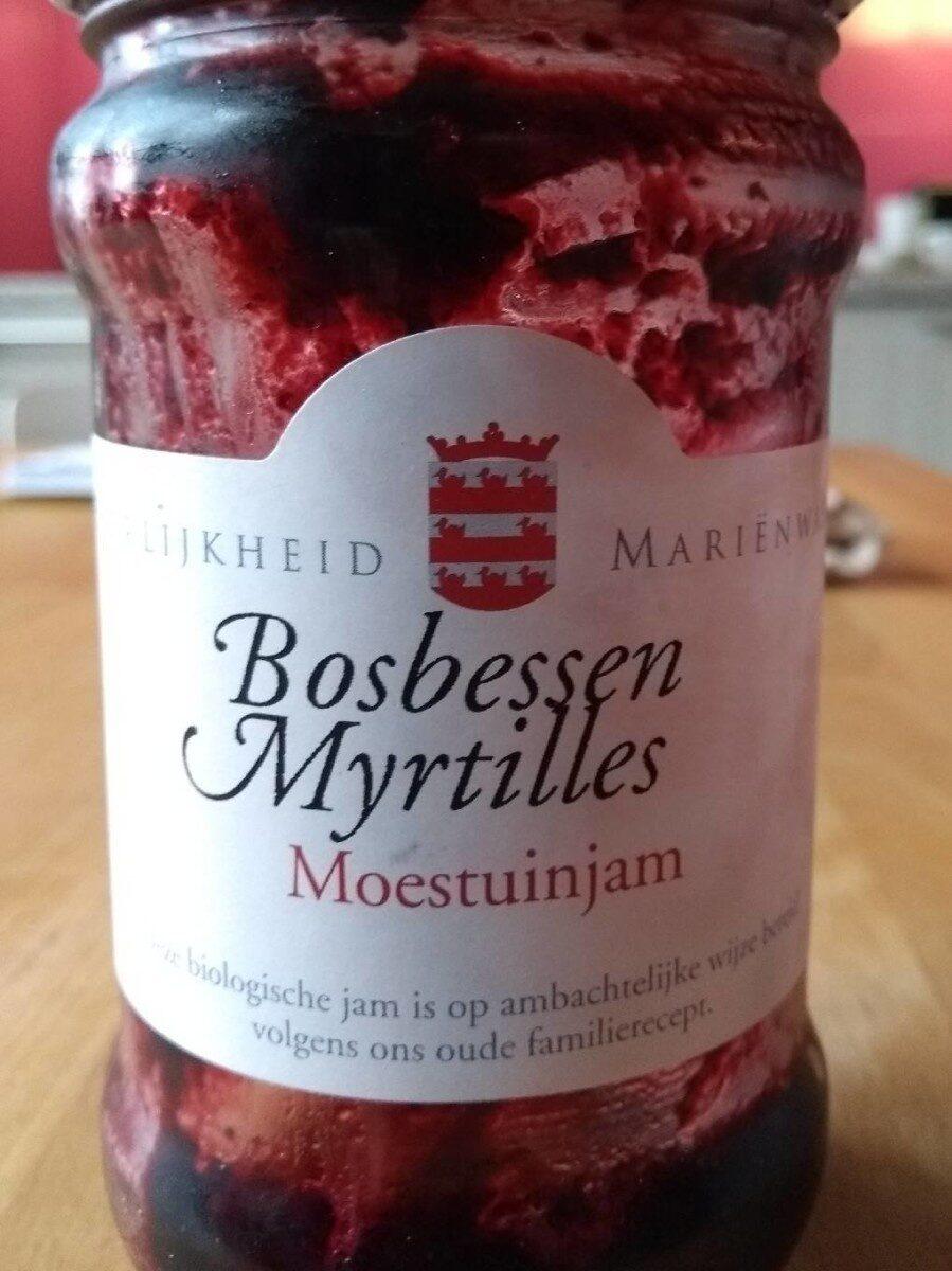 Confiture de myrtilles - Product