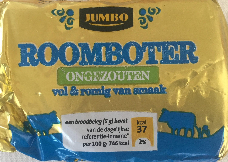 Roomboter ongezouten - Product - nl