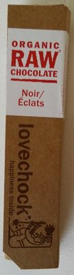 Organic Raw Chocolate Noir/Éclats - Product - fr