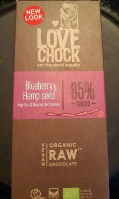 Chocolat Myrtille et Graines de Chanvre - Product