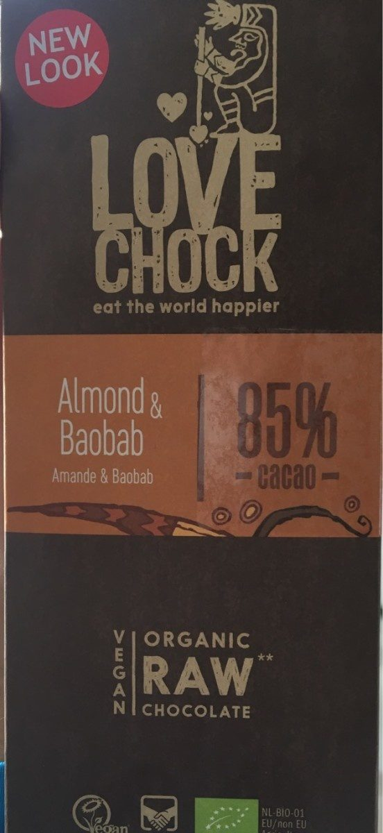Almond and baobab - Product - fr