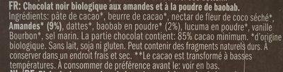 Almond and baobab - Ingrediënten - fr