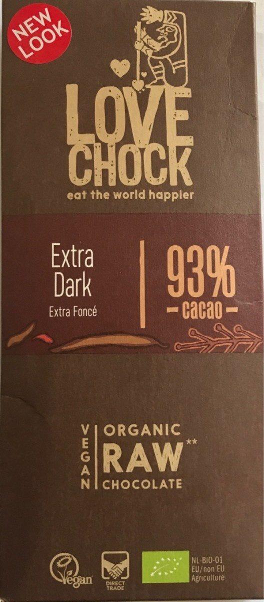 Extra foncé 93% cacao - Product