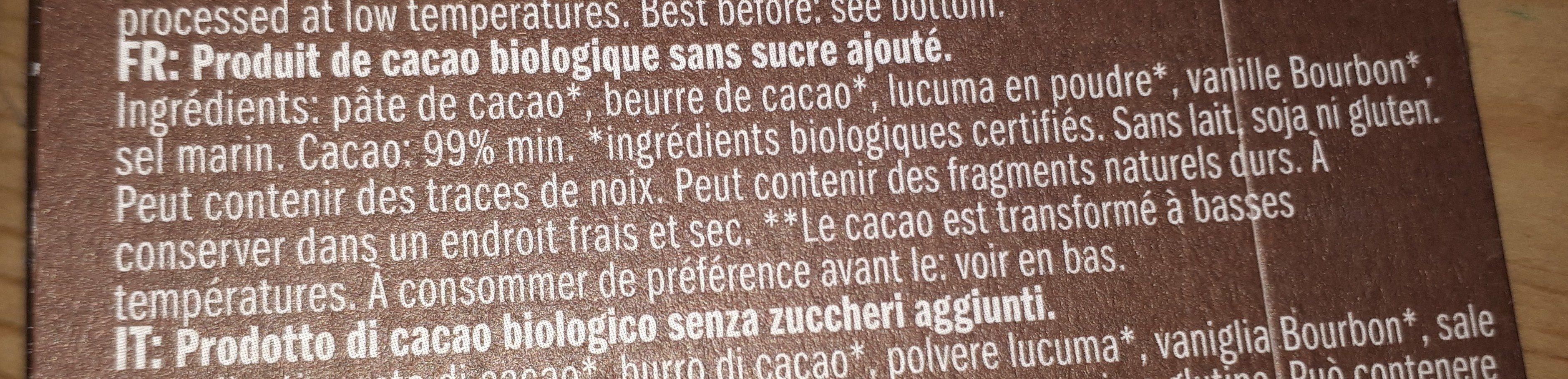 love chock - Ingrédients - fr