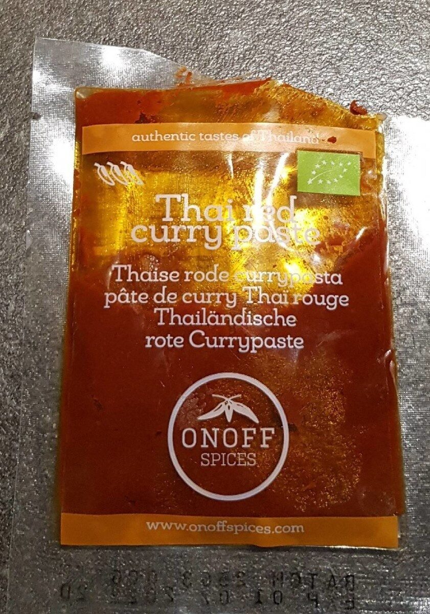 Thai red curry paste - Product - fr