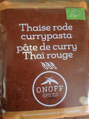 pâte de curry Thaï rouge - Product - fr