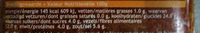 pâte de curry Thaï rouge - Voedingswaarden - fr