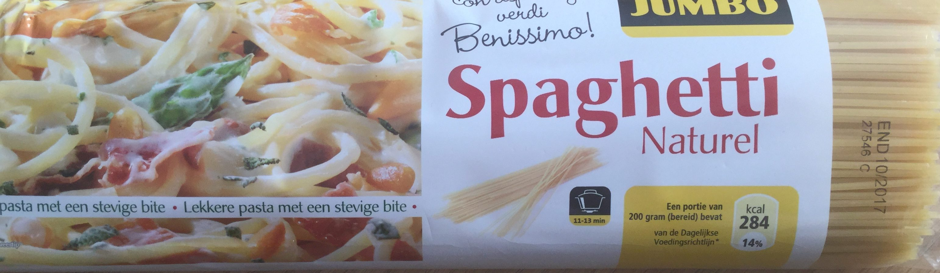 Spaghetti naturel - Product
