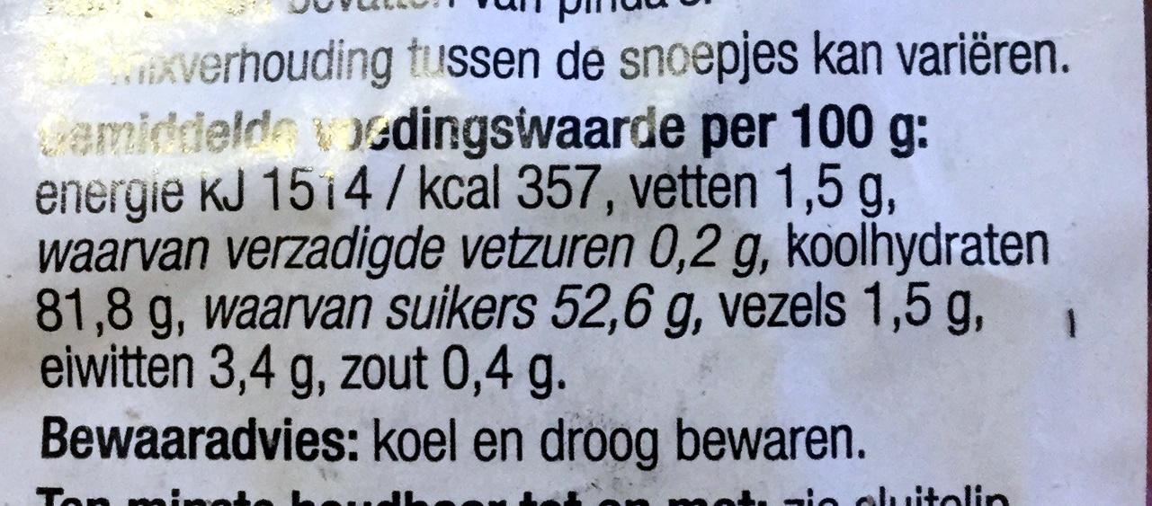 Oud hollandse strooimix - Informations nutritionnelles - nl
