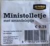 Ministolletje met amandelspijs - Product