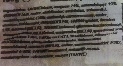 Ministolletje met amandelspijs - Ingrediënten