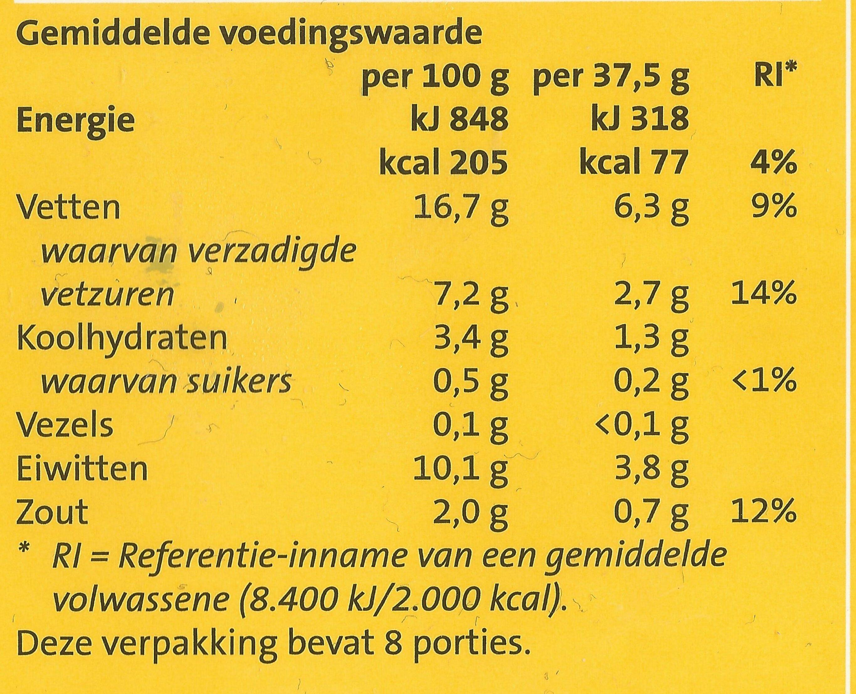 Jumbo Hotdogs - Voedingswaarden - nl