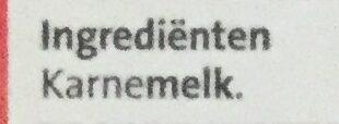 Karnemelk - Ingredients
