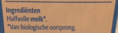 Biologische Halfvolle Melk - Ingrediënten - nl