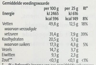 85% extra puur - Voedingswaarden - nl