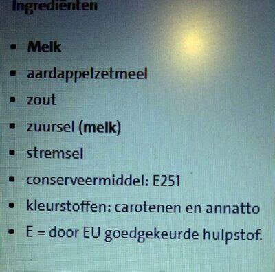 - Ingredients - nl