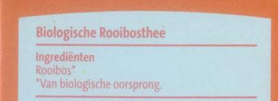 Biologische rooibos thee - Ingredients - nl