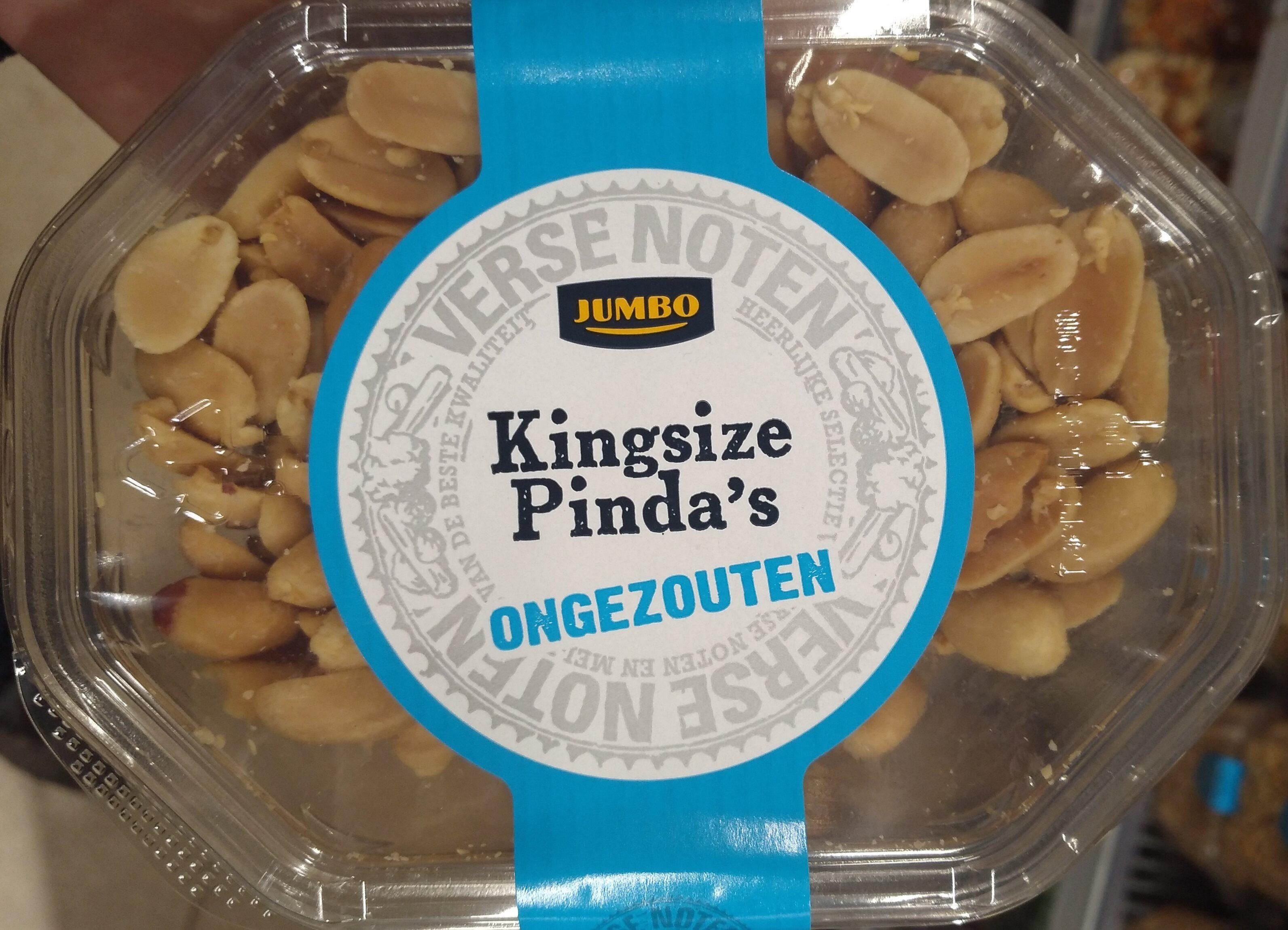 Kingsize pinda's ongezouten - Product - nl