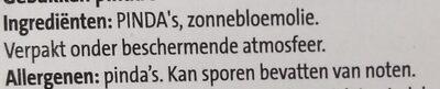 Kingsize pinda's ongezouten - Ingredients - nl