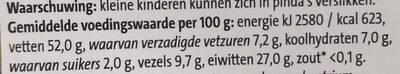 Kingsize pinda's ongezouten - Voedingswaarden - nl