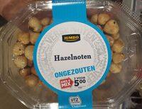 Jumbo Hazelnoten ongezouten - Product - nl