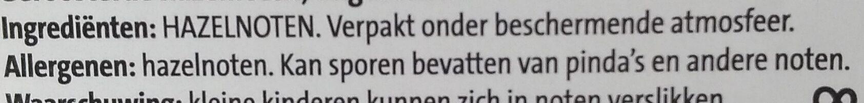 Jumbo Hazelnoten ongezouten - Ingrediënten - nl