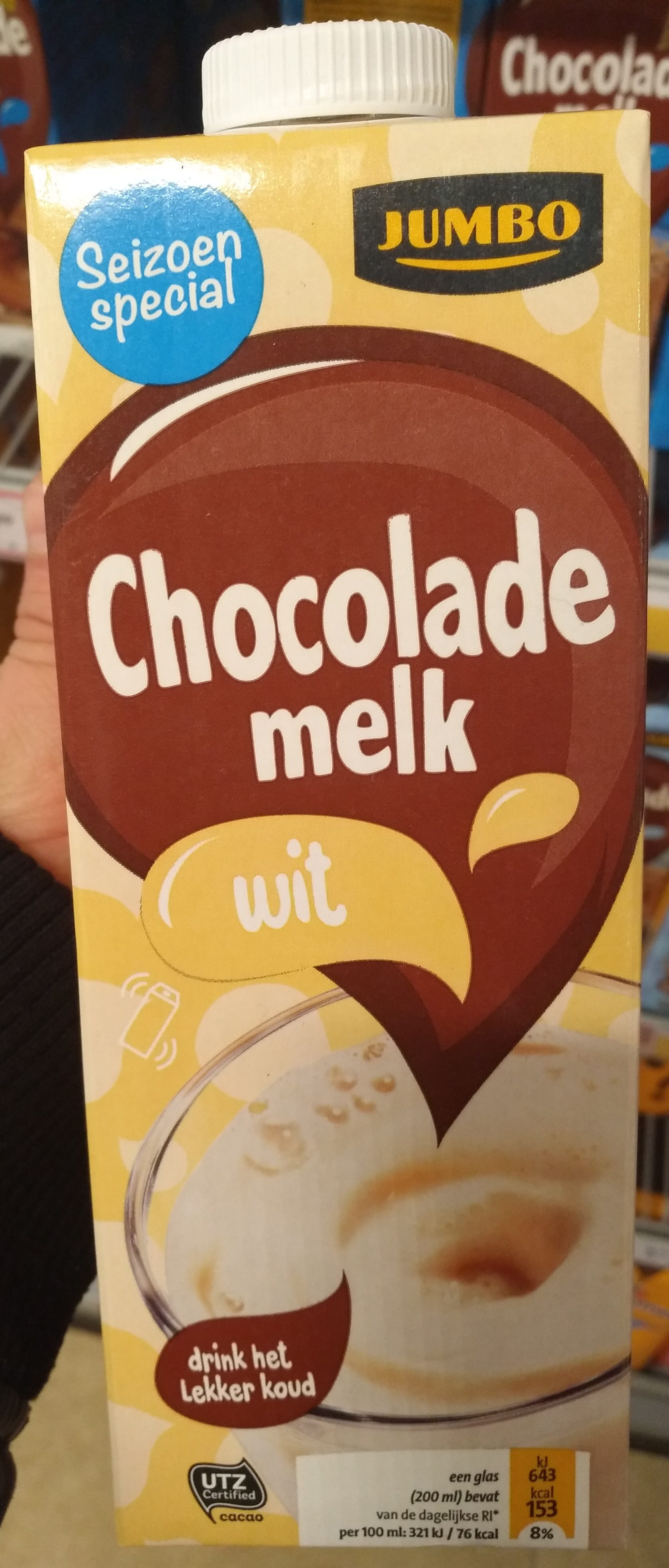 Chocolade Melk Wit - Product - nl