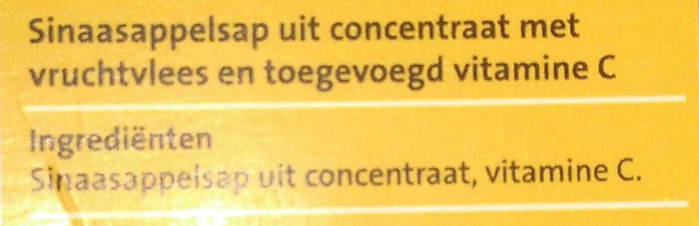 Sinaasappelsap - Ingrediënten - nl
